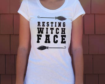 Halloween Shirt - Halloween T Shirt - Womens Halloween Tee Shirt // Boho Clothing - Witch Shirt - Wicca Shirt // Women's Harry Potter Shirt