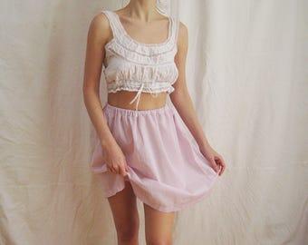 80s Reworked High Waist Skirt XS S