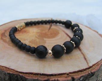 Shungite bracelet/Elastic bracelet