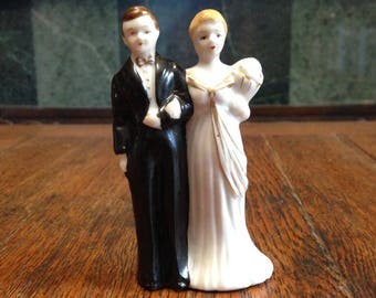 1930s Wedding Cake Topper