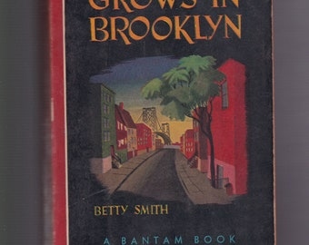 A Tree Grows in Brooklyn by Betty Smith (1947, Paperback). Classic Literature. Good Vintage Condition.