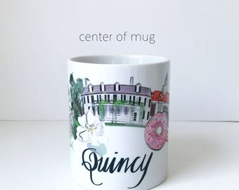 Quin-Zee (Quincy, MA) Mug