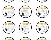 Where the Wild Things Are Party Favor Tags / Where the Wild Things Are Thank You / Wild Things Birthday Favors / Wild Things Favor Tags