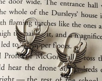 Ravenclaw Eagle Harry Potter Inspired Charm Earrings