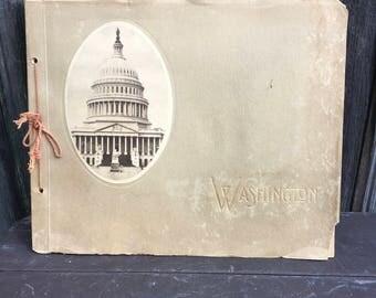 c.1915 Washington souvenir view book Washington DC