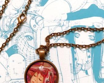 The Paint Catcher- Handmade Necklace Pendant