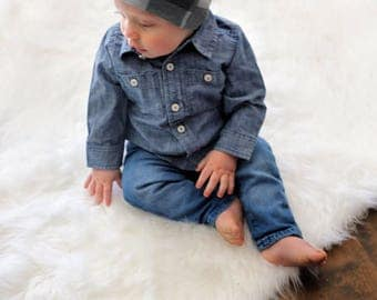 Slouchy beanie/Baby hat/Beanie/Baby boy clothes/Beanie/Hipster baby clothes/Baby beanie/Slouch beanie/Slouchy hat/Hipster clothes/Hat