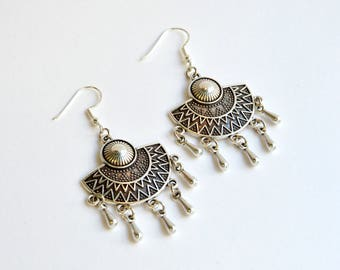 Ethnic Boho Dangles|Boho Earrings|Gypsy Earrings|Hippie Earrings|Boho Gypsy Earrings|Amazing Earrings|Chandelier Earrings|Gift for Her