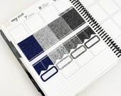 Wise // Glitter Header Sampler (Glossy Planner Stickers)
