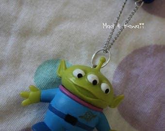 Toy story Alien necklace