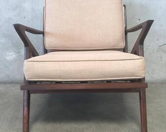 Mid Century Z Style Chair (T9CHRX)