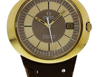 Omega Dynamic Gold Plated Automatic ST166.0039 Tool 107