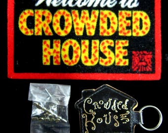 Group of CROWDED HOUSE Promotional Items