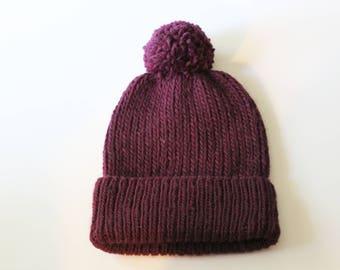 Classic Pom Pom Winter Hat