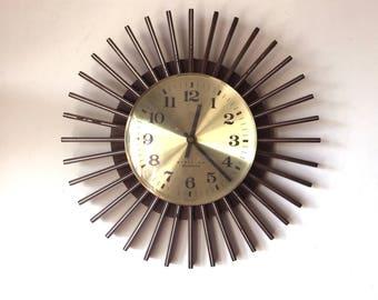 70s Funky retro vintage original Westclox wall clock