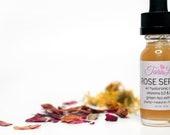 Rose Face Serum, Face Serum for Mature Skin, Hydrating Face Serum, Anti Aging Facial Serum, Niacinamide, Panthenol, Moisturizing