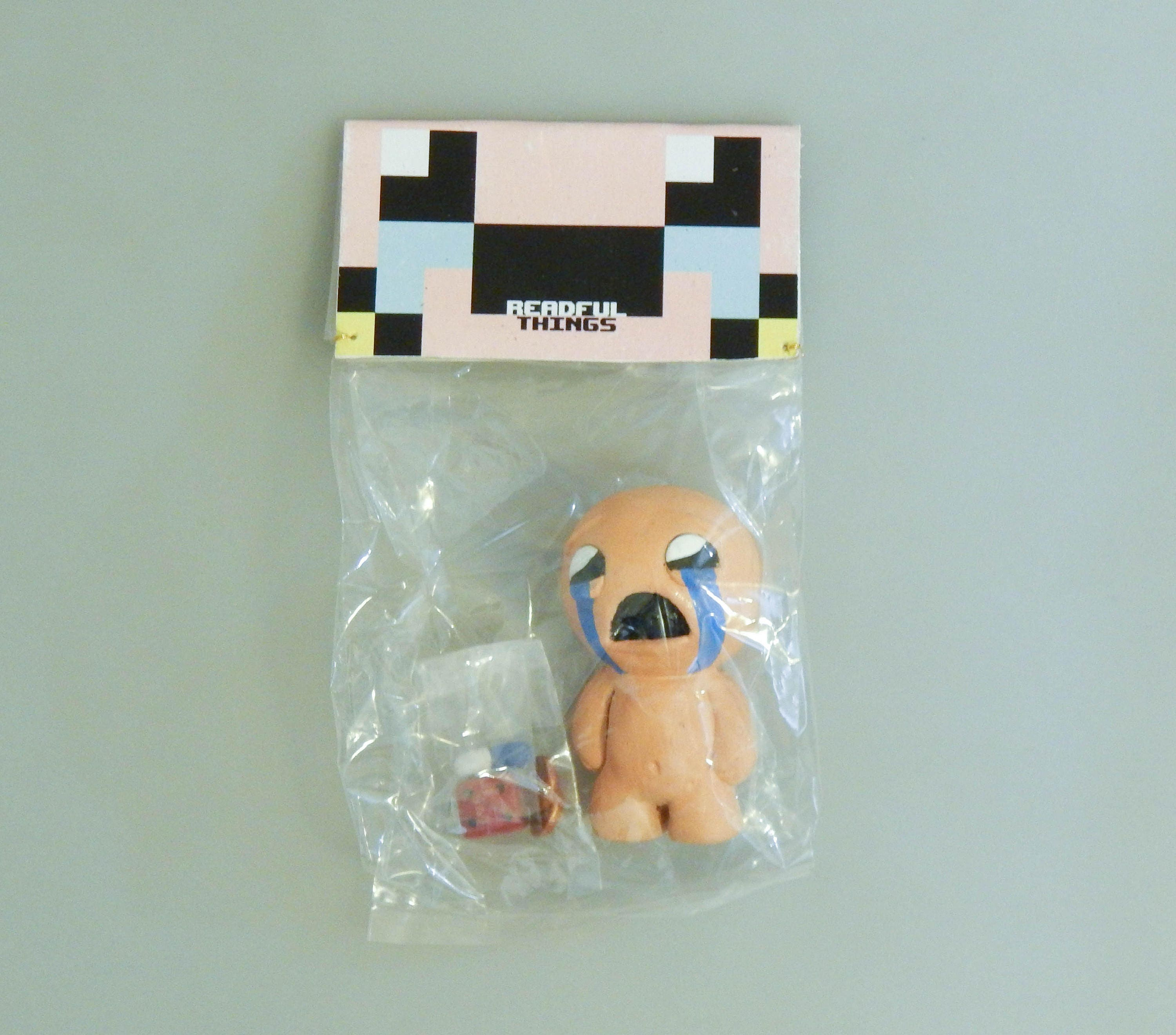 The Binding Of Isaac Custom Made Game Figure With Items