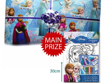 Pass the Parcel Ready Made Party Game - Disney Frozen