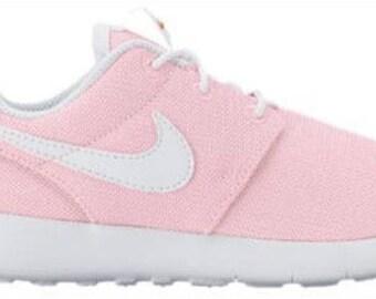 Swarovski Pink Nike Roshe Girls Shoes