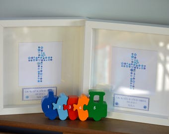 Personalised Christening/Baptism/Naming Day Cross