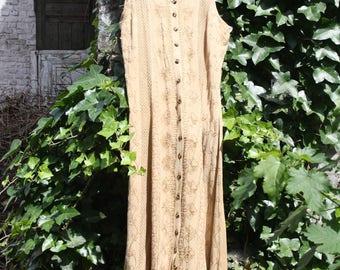 Robe bohème vintage