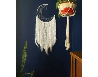 Dream Catcher // Crescent Moon