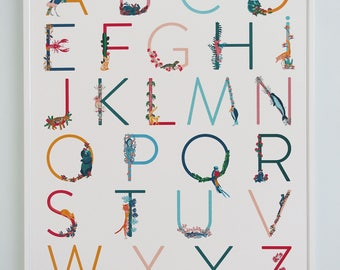 Poster alphabet / ABC Print