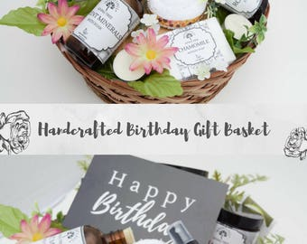 Happy birthday gift etsy birthday gift basket wife birthday ideas gift basket for her birthday gifts for negle Image collections
