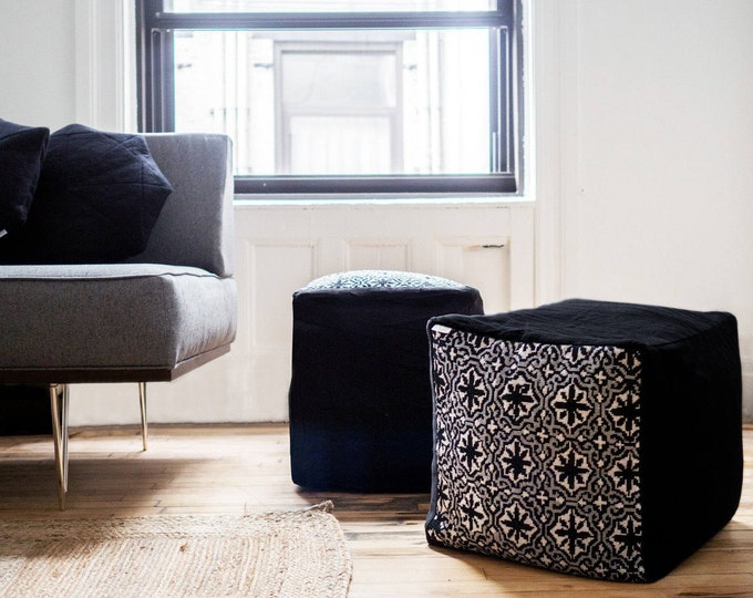 Featured listing image: Monochrome Pouf