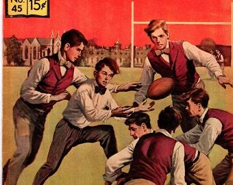 Classics Illustrated #45 (HRN 167) FN Tom Brown's School Days 1964 Thomas Hughes