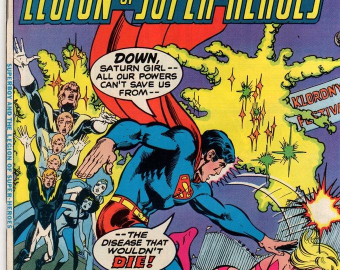 Superboy Comic Book #232 DC Comics 1977 VG-F Saturn Girl