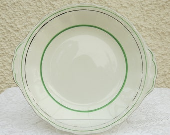 Large Vintage Cake Plate by Grindley Pottery, England