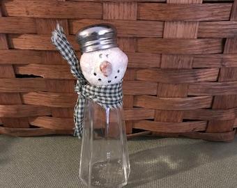 Snowman Salt Shaker