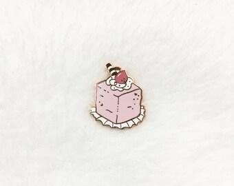 Petit Four Pastel Cake Pin