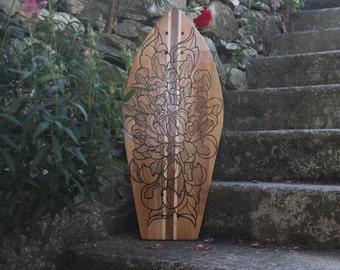 CHRYSANTHENUM - Wood Skateboard Deck