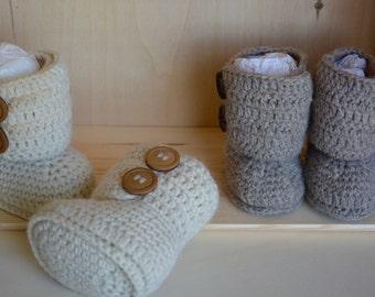 Cossack boots, 100% Alpaca, crochet gift ideas for children