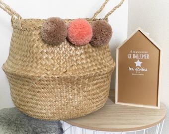 Basket pompon sweet