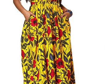 Jamilaa African Dress