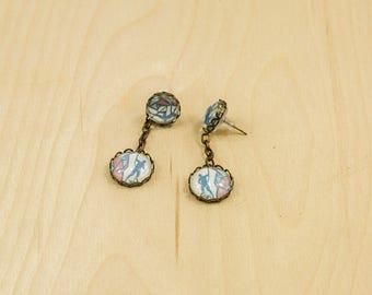 Climbing party earring - Mountain earrings - Rock Climbing earring - Outdoor earrings
