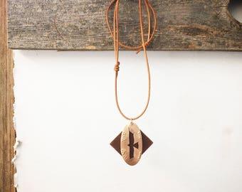 Condor, Handmade Copper Pendent
