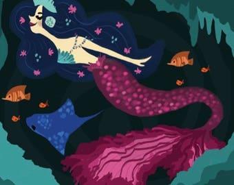 Dark Waters Mermaid