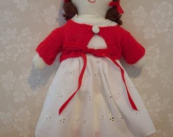 ANNIE - Rag Doll by Maggi Crafts