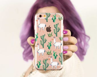 iPhone 7 Case Llama iPhone 6 Case iPhone 7 Plus Case iPhone 6 Plus Case iPhone 6s Case iPhone 5s Case iPhone 6s Plus Case Llama Cute Animal