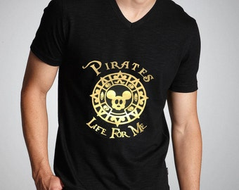 Pirates Life for Me Mickey Tee