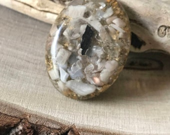 orgone, Zen, Moonstone, Protection, Protection orgone, Healing Stones, Healing Crystals, Healing orgone, Clear Quartz, Gifts for her,