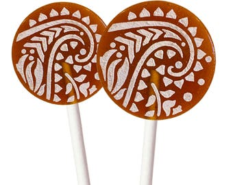 Espresso Light Roast Caramel Creme Lollipop With Cinnamon Sugar Glaze - 8