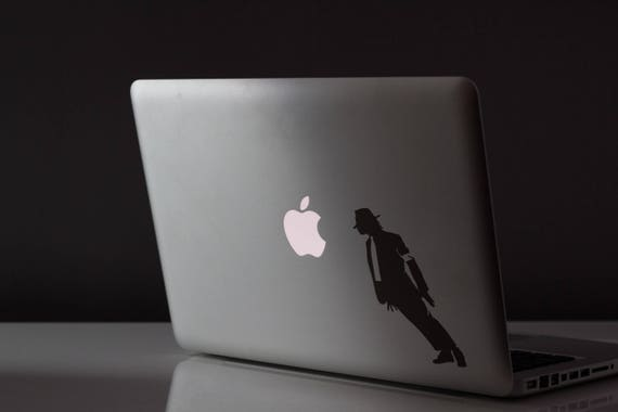 Smooth Mobster Criminal Decal Sticker for Macbooks and other Laptops, Skin, Laptop Vinyl decals, mac, Michael Jackson Style