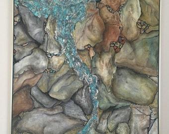 Precious stones turquoise