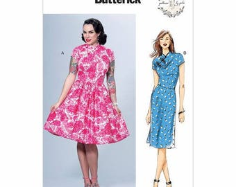 Vintage by B6483 retro Butterick sewing pattern