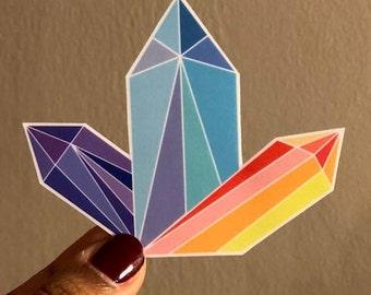 Crystal Vinyl Sticker